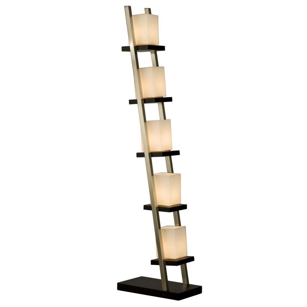 Nova escalier 61 in floor lamp 11815 the home depot nova escalier 61 in floor lamp aloadofball Image collections