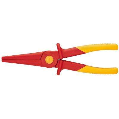 8-3/4 in. 1,000-Volt Insulated Flat Nose Plastic Pliers