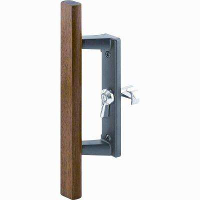 Internal Black Sliding Door Lock Kit