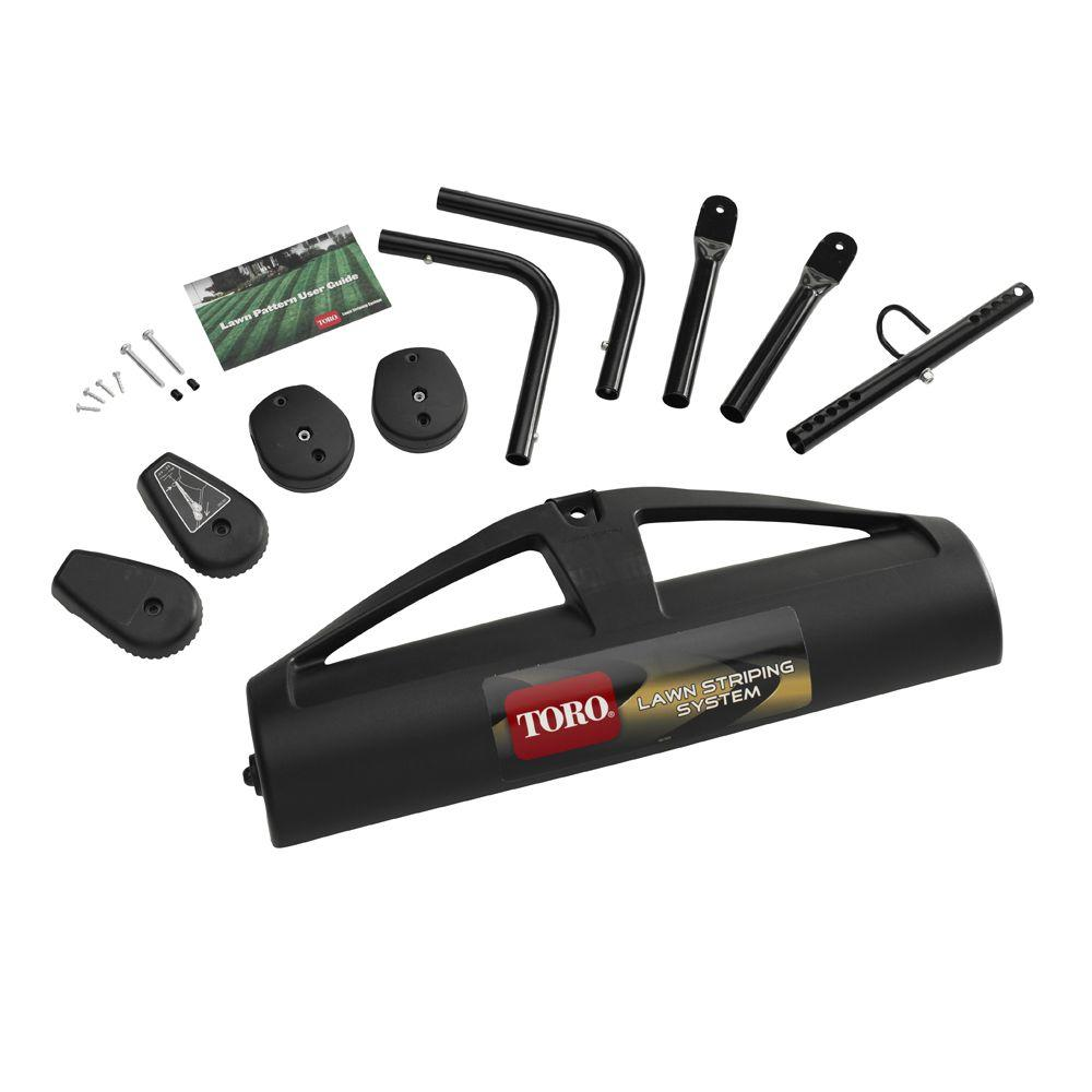 Toro Striping Kit For Walk Behind Mowers 20601 The Home Depot Troy Bilt Horse Lawn Tractor Wiring Diagram