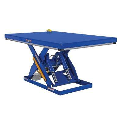 4,000 lb. Capacity 48 in. x 72 in. Electric Hydraulic Scissor Lift Table