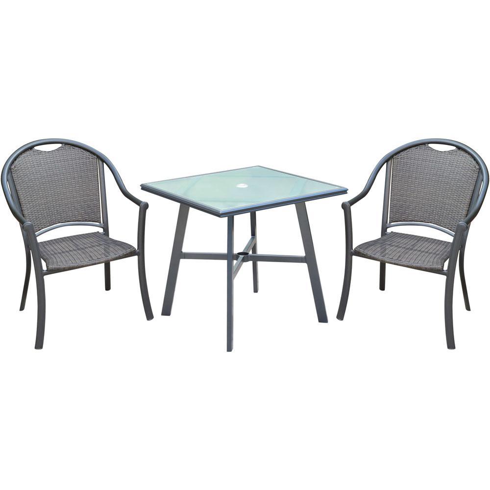 Bambray 3-Piece Commercial-Grade Aluminum Outdoor Dining Set