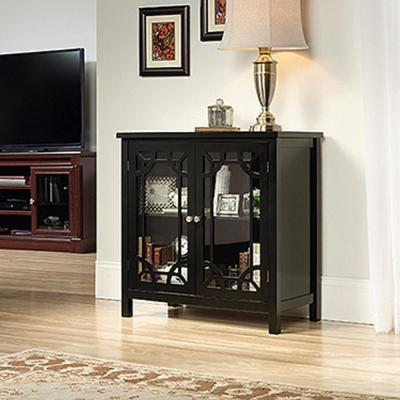 Palladia Collection Black Accent Storage Cabinet