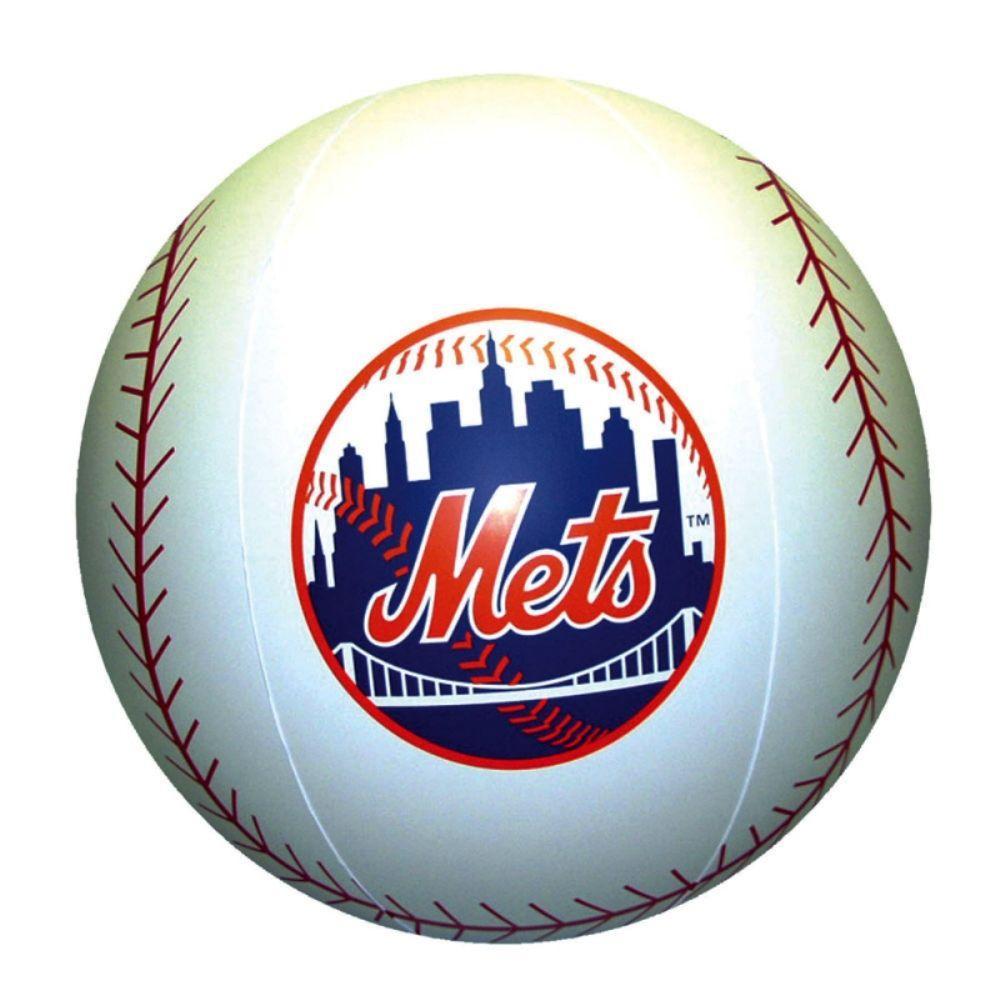 Team Sports America 24 in. Beach Ball - NY Mets
