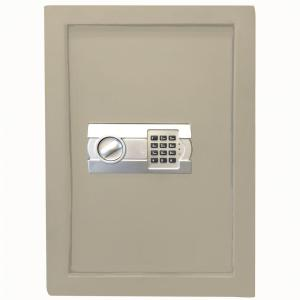 Wall Safe with Electronic Lock Beige