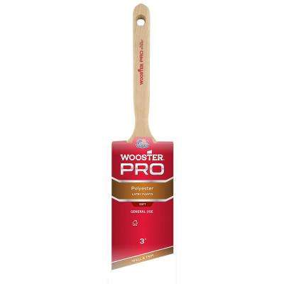 3 in. Pro Polyester Angle Sash Brush