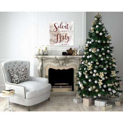 """Silent Night Holy Night"" by Oliver Gal Canvas Wall Art"