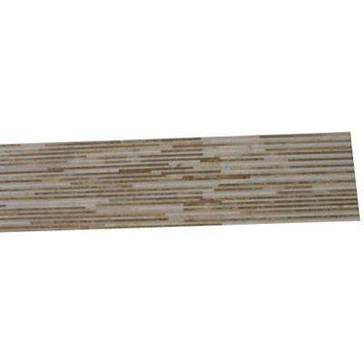 Great Napoleon 24 in. x 6 in. x 10 mm Marble Floor and Wall Tile