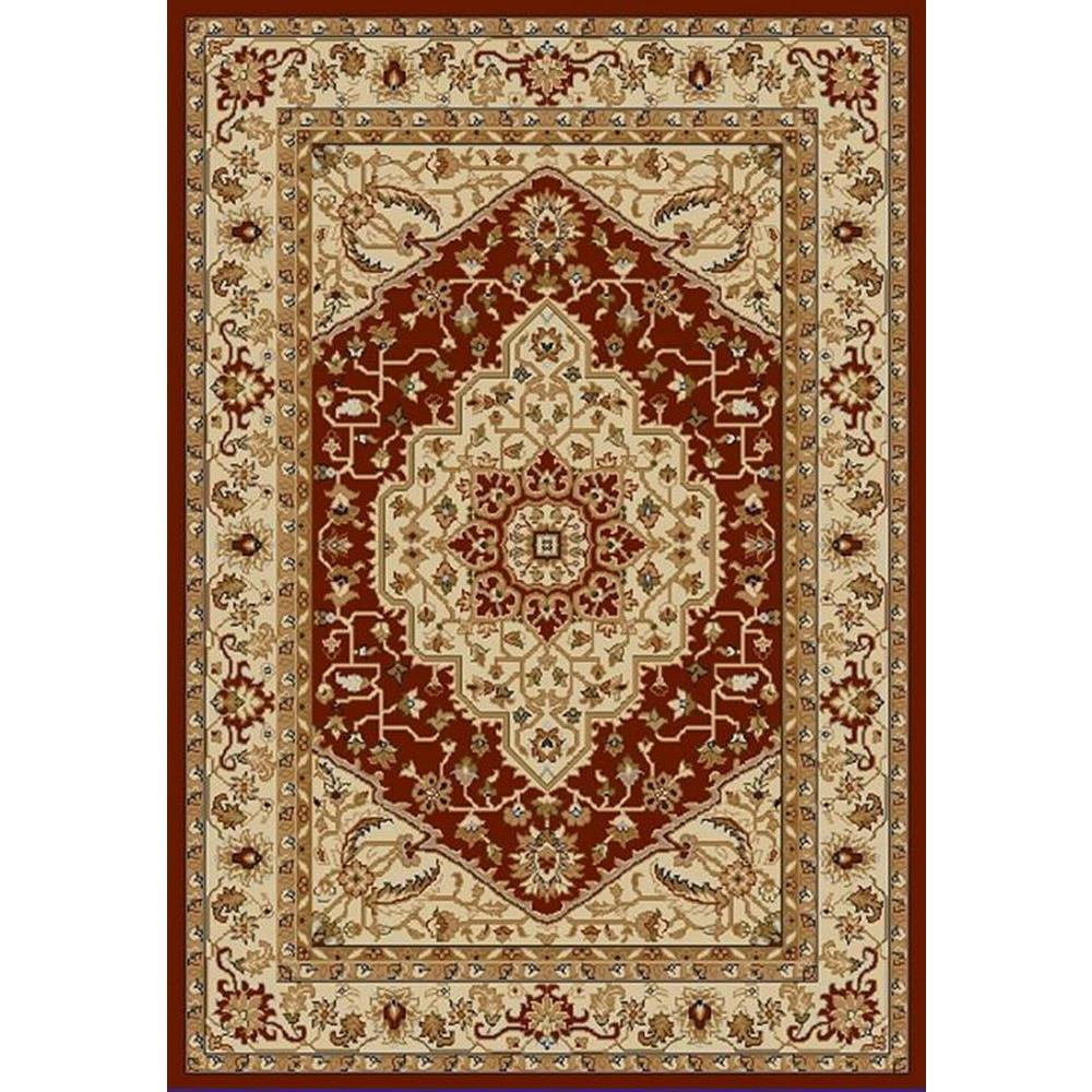 safavieh austin red creme 4 ft x 5 ft 7 in area rug aus1580 4011 4 the home depot. Black Bedroom Furniture Sets. Home Design Ideas