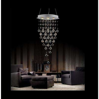 Robin 3-Light Chrome Chandelier