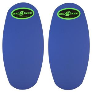 Magnee Blue Standard Strapless Magnetic Attaching Knee Pads by Magnee