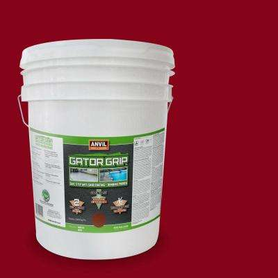 5-gal. Brick Red Anti-Skid Coating and Bonding Primer