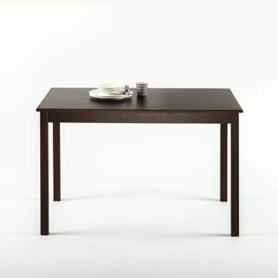 Juliet Espresso Wood Dining Table / Table Only
