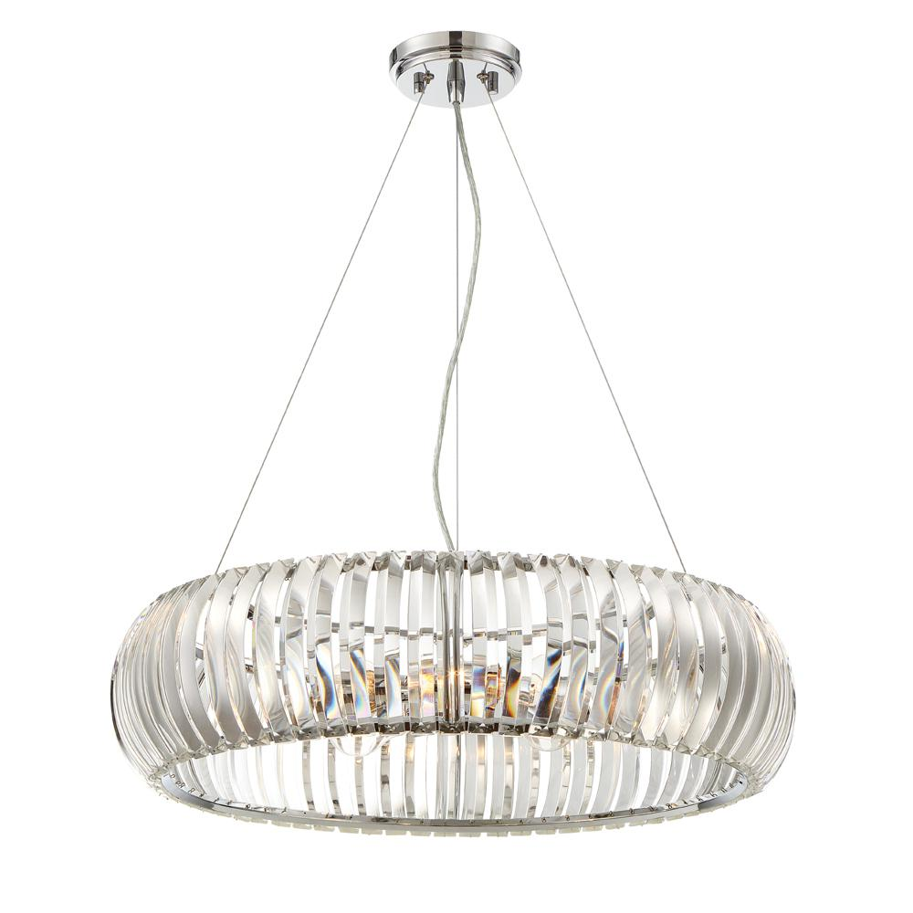 Designers Fountain Allure 4 Light Chrome Pendant