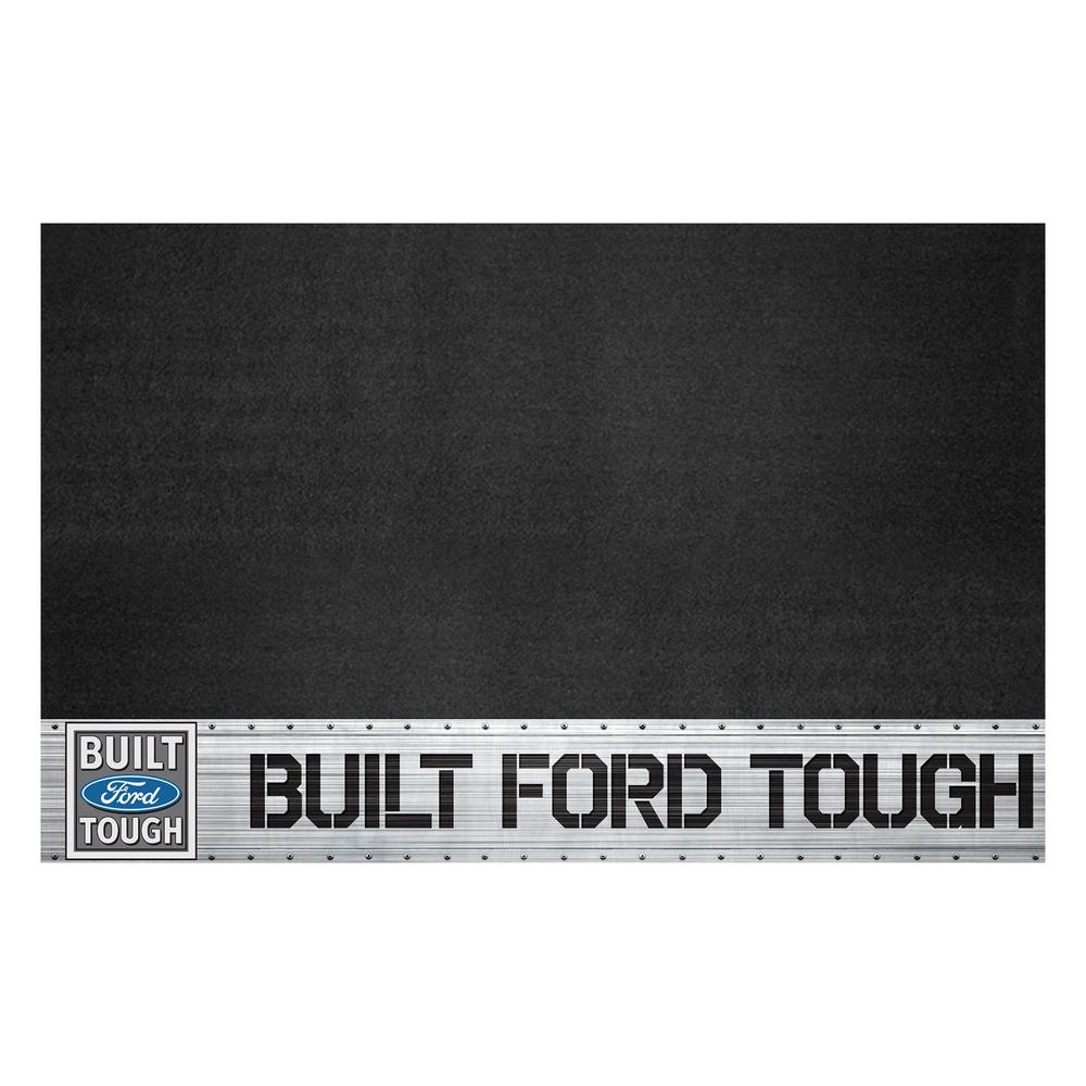 Fanmats Ford Built Ford Tough 42 In X 26 In Vinyl Grill Mat