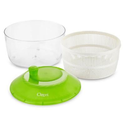Italian Made Fresca Salad Spinner and Serving Bowl, BPA-Free