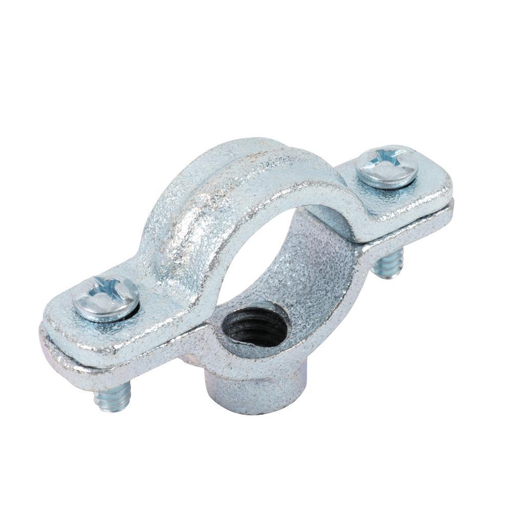 1-1/2 in. Galvanized Split Ring Pipe Hanger
