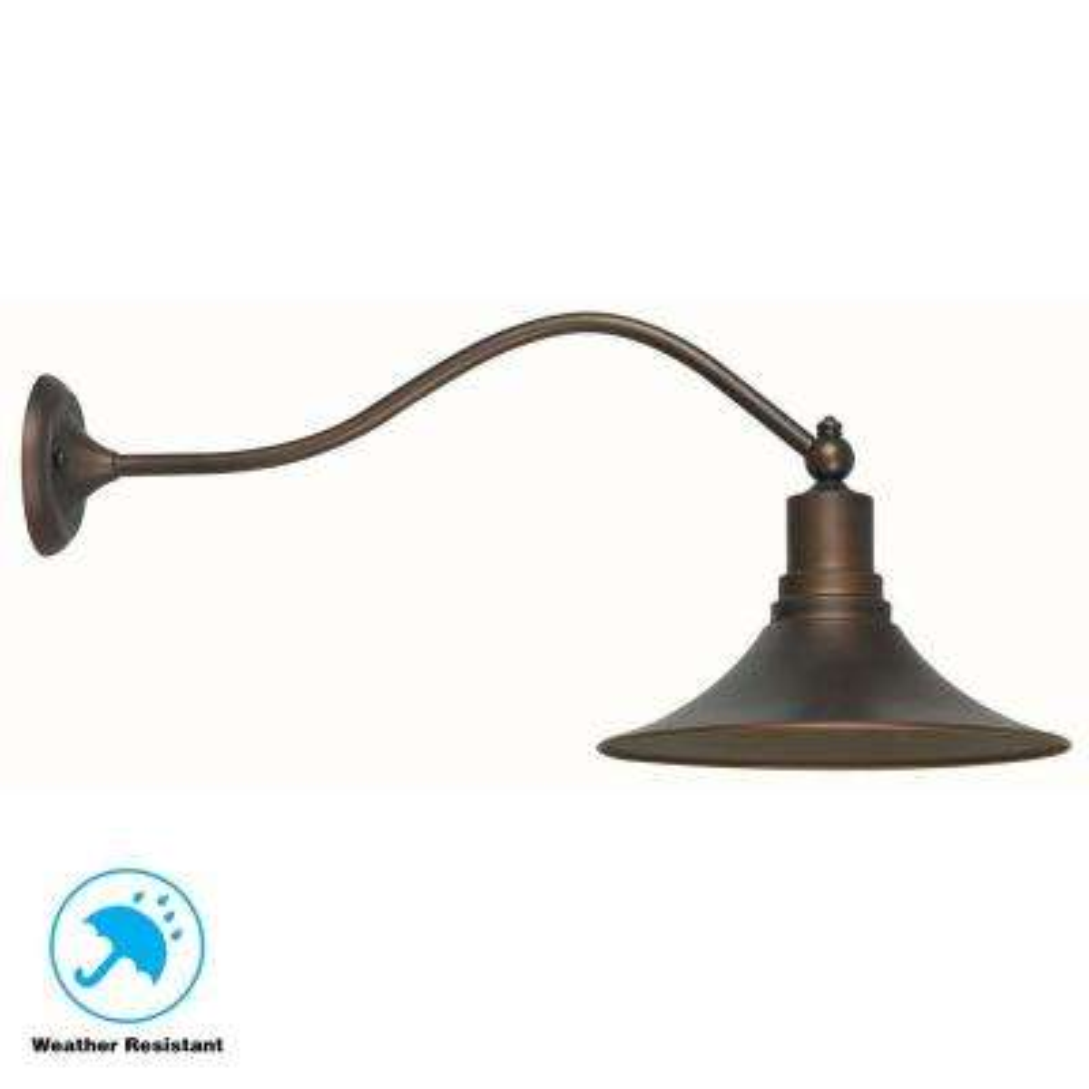Dark Sky Kingston Antique Copper 1-Light Outdoor Lantern