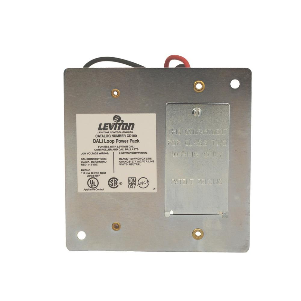 Leviton Dali Loop Power Pack for use with Dali Compatible Dimmer ...