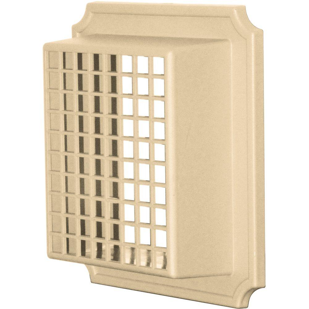Exhaust Vent Small Animal Guard #012-Dark Almond