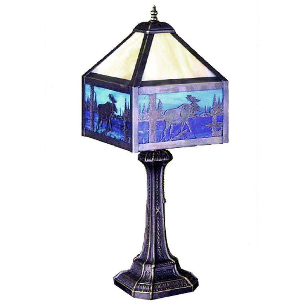 Illumine 1 Light Moose Creek Table Lamp