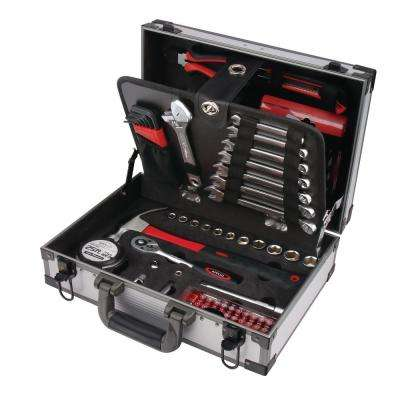 Deluxe General Tool Kit in Aluminum Case (96-Piece)
