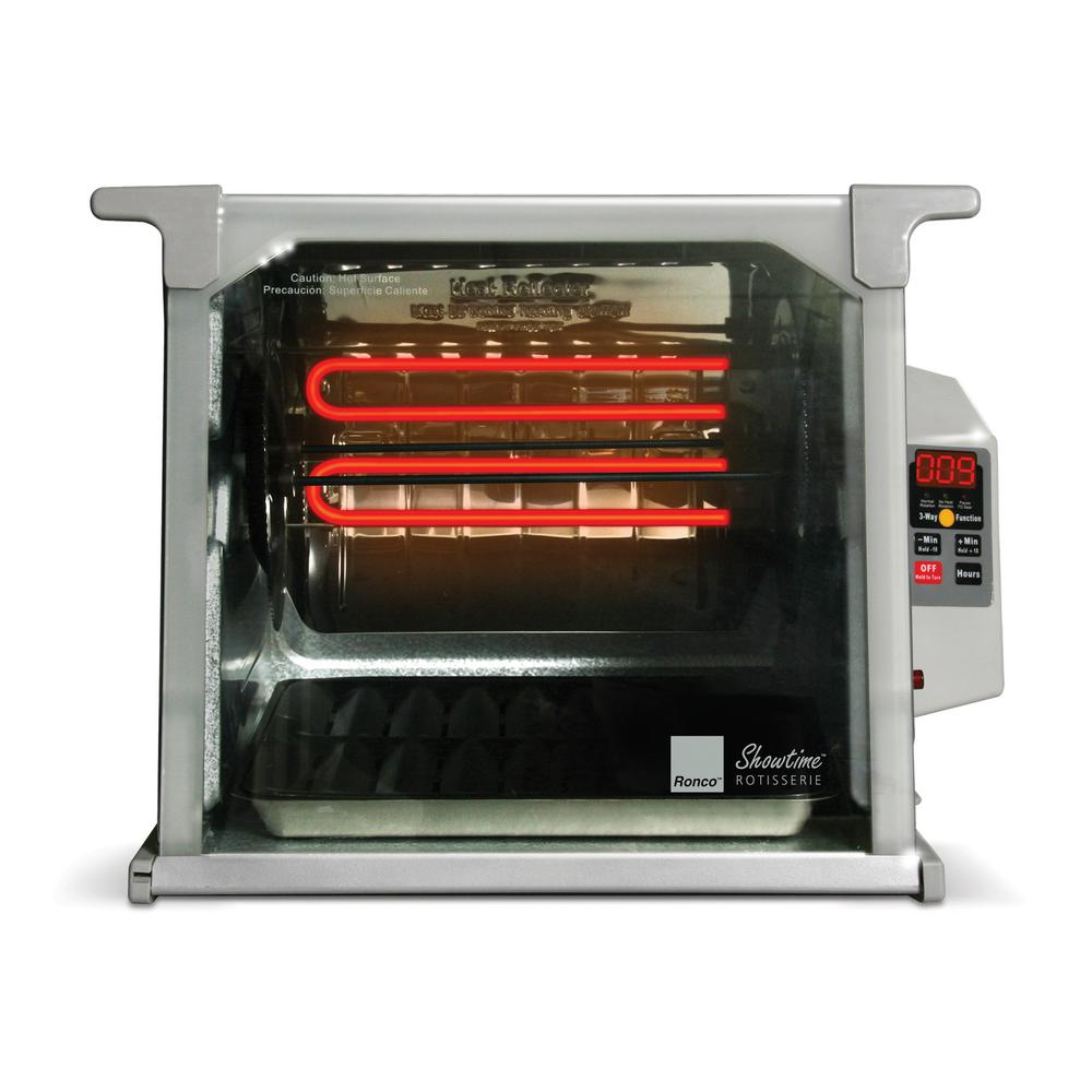 Ronco Showtime Digital Rotisserie and BBQ Oven Platinum Edition