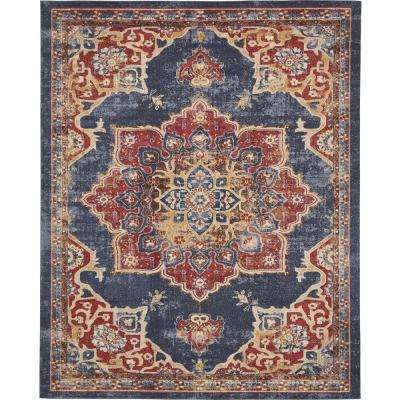 Utopia Dark Blue 8' x 10' Rug