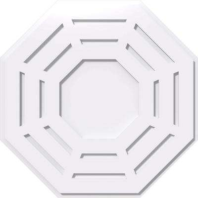 26 in. OD x 1 in. P Westin Architectural Grade PVC Contemporary Ceiling Medallion