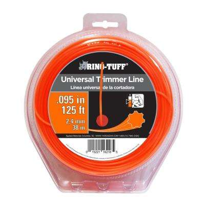 Universal 0.095 in. x 125 ft. Trimmer Line