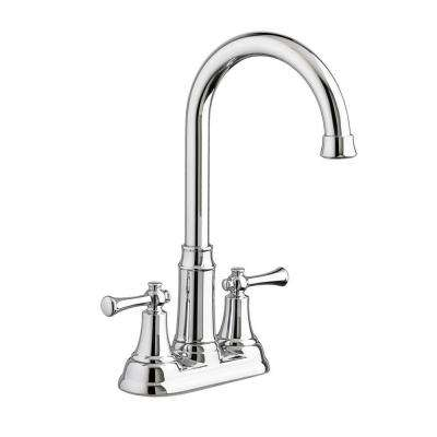 Portsmouth 2-Handle Bar Faucet in Polished Chrome