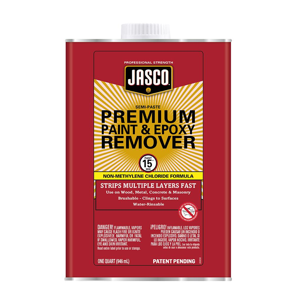 Jasco 1 Qt Premium Paint And Epoxy Remover Qjpr501 The Home Depot