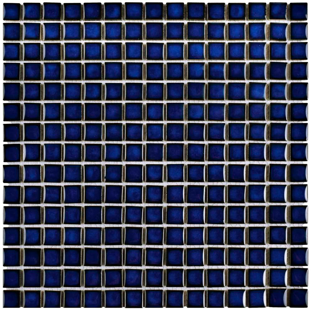 Merola Tile Hudson Edge Blue Eye 12-3/8 in. x 12-3/8 in. x 6 mm ...