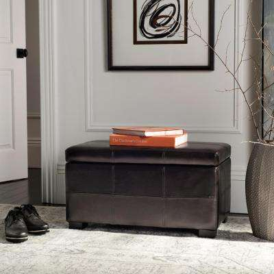 Lily Brown Storage Bench