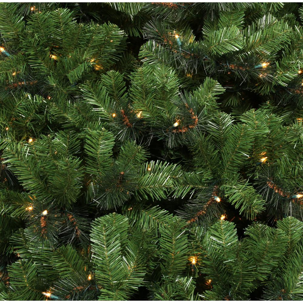 Pre Lit Christmas Tree Fuses: 12 Ft. Noble Fir Artificial Christmas Tree With 1450 Clear
