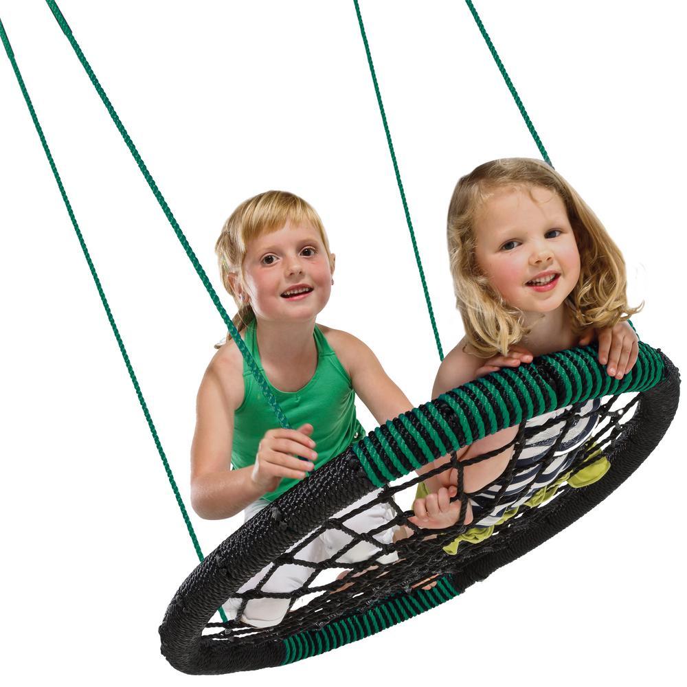 Swing-N-Slide Playsets Black Monster Web Swing