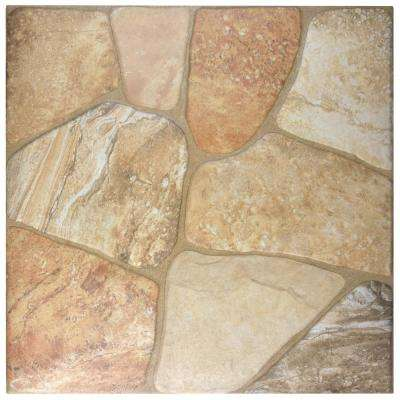 Lyon Beige 17-3/4 in. x 17-3/4 in. Ceramic Floor and Wall Tile (17.5 sq. ft. / case)
