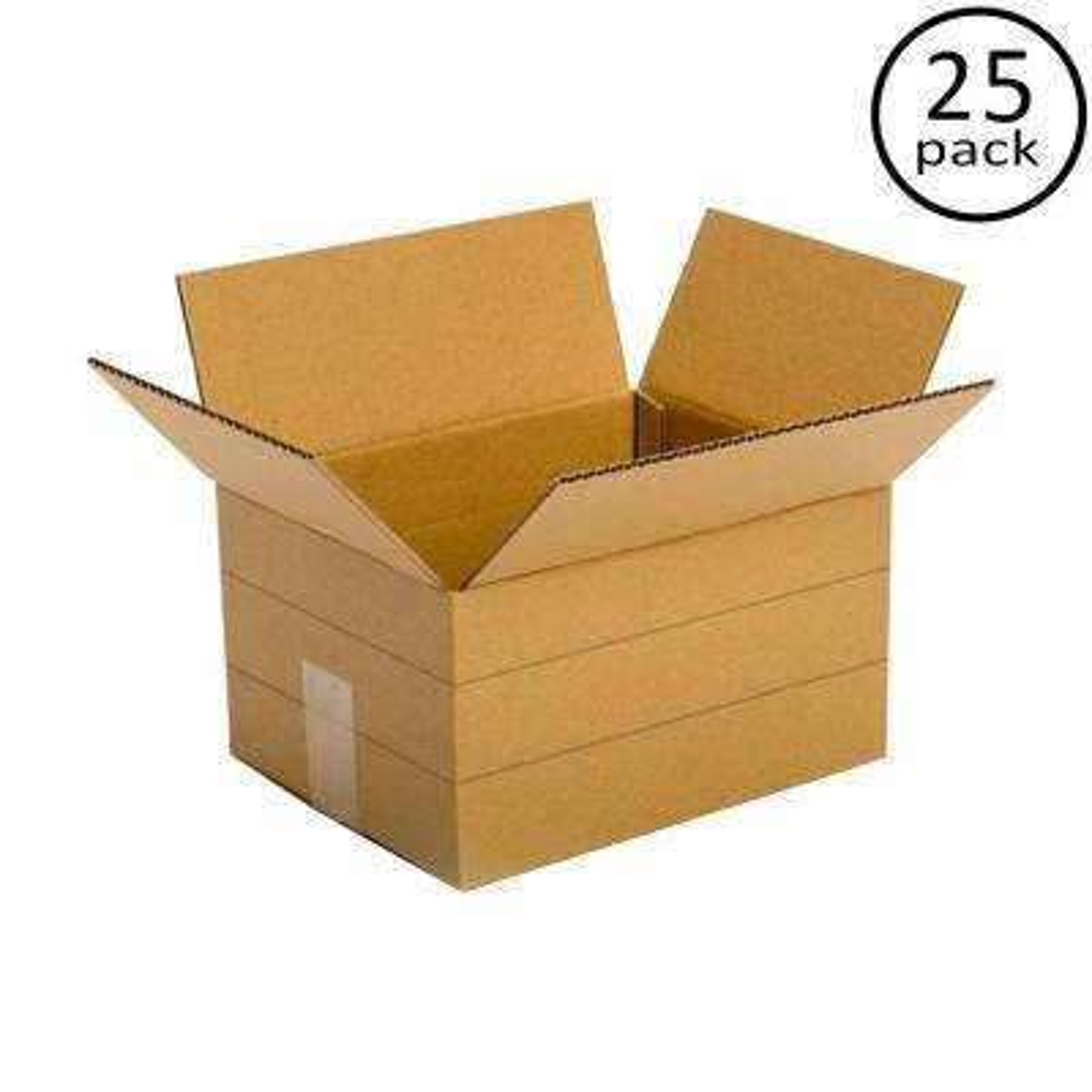 12 in. L x 9 in. W x 6 in. D Multi-depth Box (25-Pack)