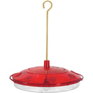 Droll Yankees 10 inch Happy Eight-2 Plastic Hummingbird Feeder by Droll Yankees