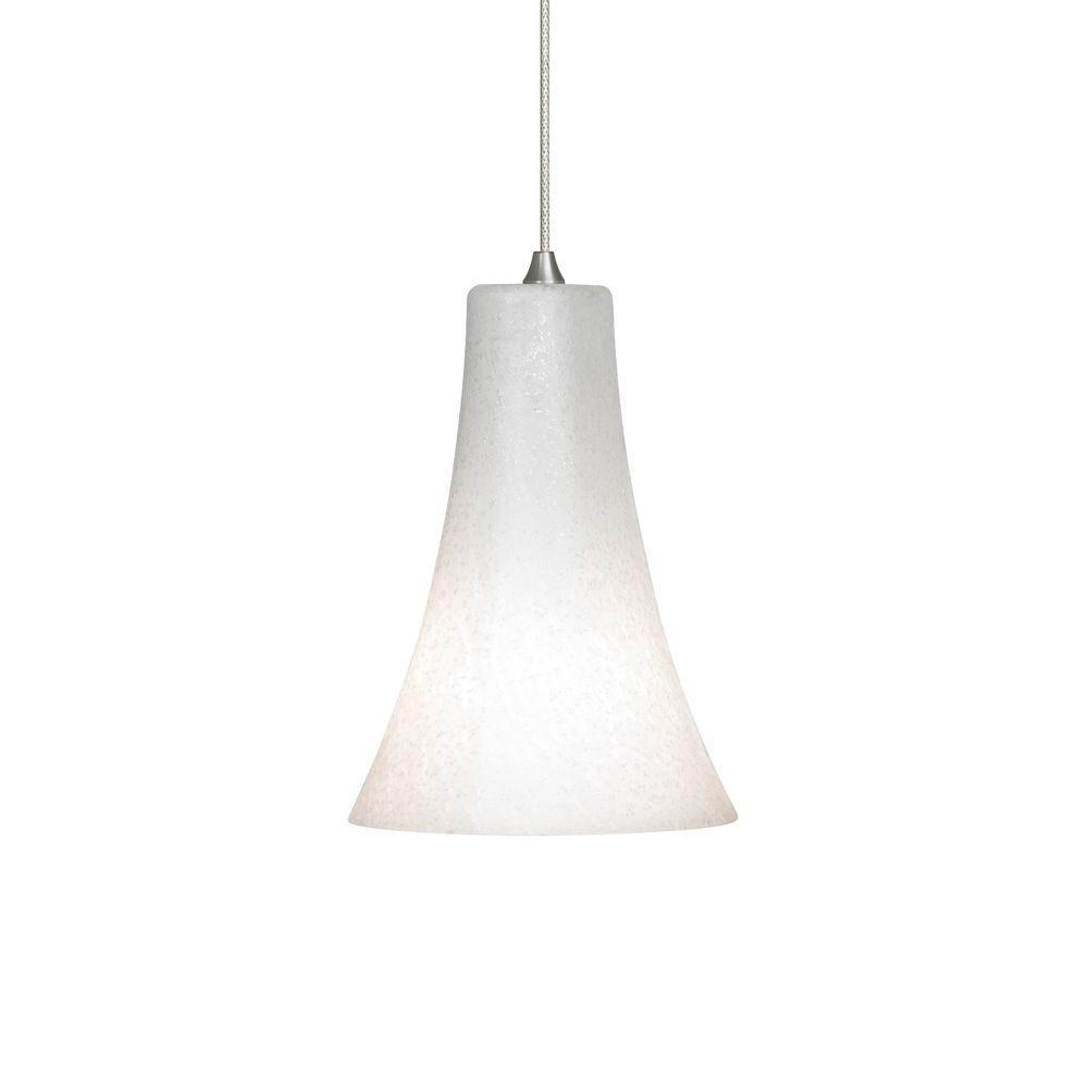LBL Lighting Mini-Indulgent 1-Light Satin Nickel Xenon