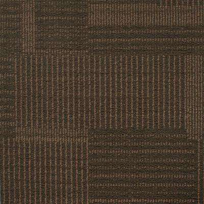 Windsor Terrace Agate Loop 19.7 in. x 19.7 in. Carpet Tile (20 Tiles/Case)