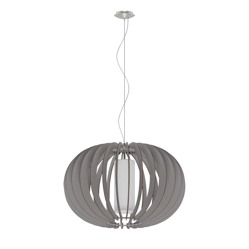 Stellato Colore 1-Light Matte Nickel Pendant