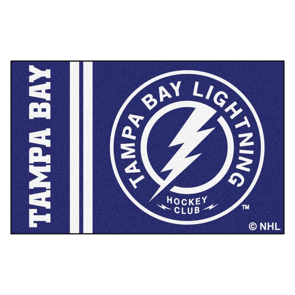 NHL - Tampa Bay Lightning Blue 2 ft. x 3 ft. Indoor Area Rug