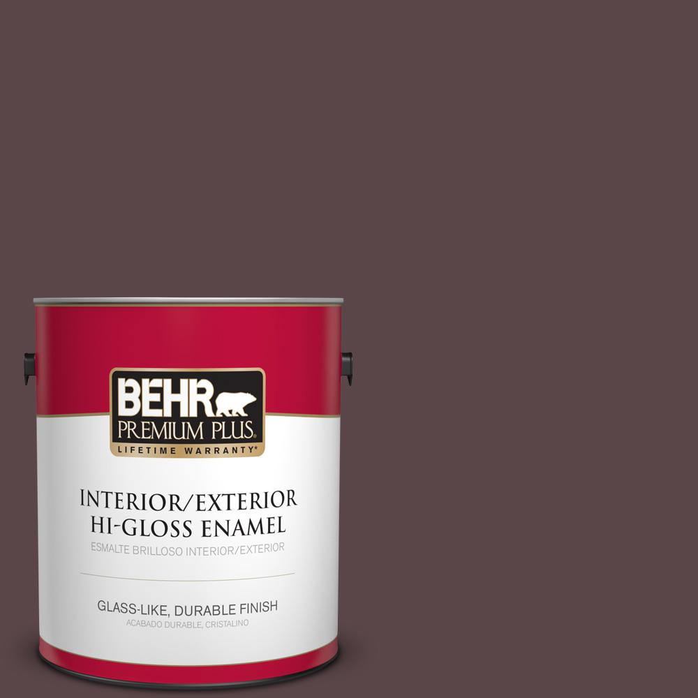 1 gal. #MQ1-44 Wild Boysenberry Hi-Gloss Enamel Interior/Exterior Paint