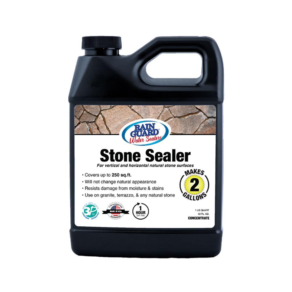 Stone Sealer Concentrate Penetrating Waterproofer Makes 2 Gal
