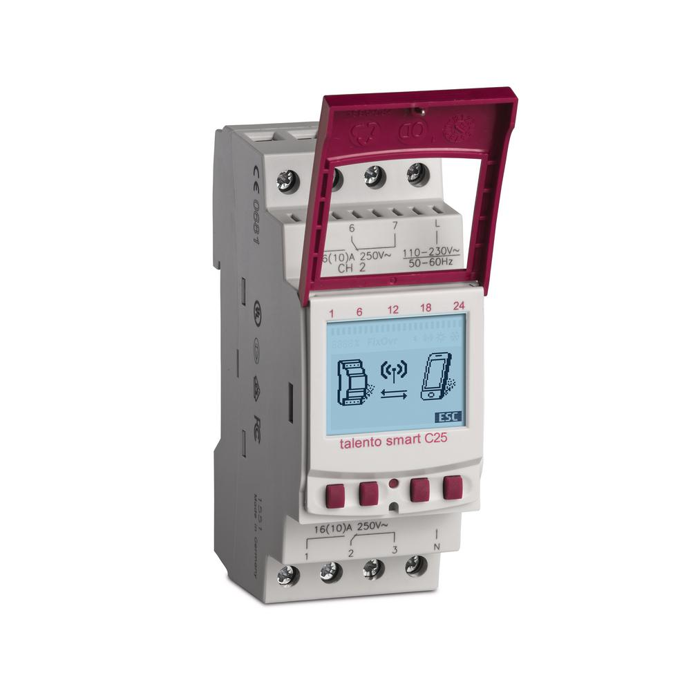 Talento Smart 15 Amp 365-Day 2-Circuit 500-Event Industrial Timer Switch