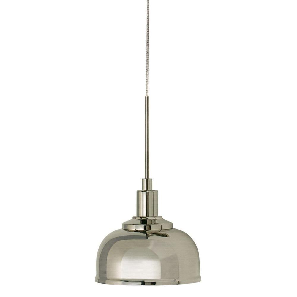 Filament Design Cypress 1-Light Satin Nickel Pendant