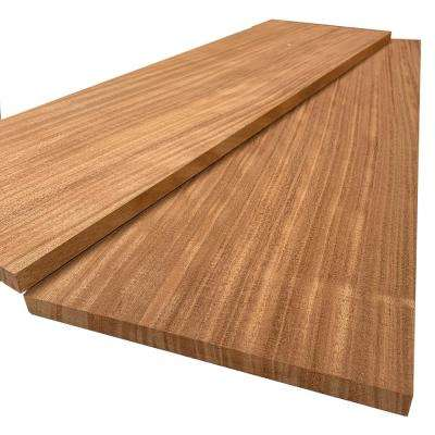 1 in. x 12 in. x 8 ft. African Mahogany S4S Board (2-Pack)