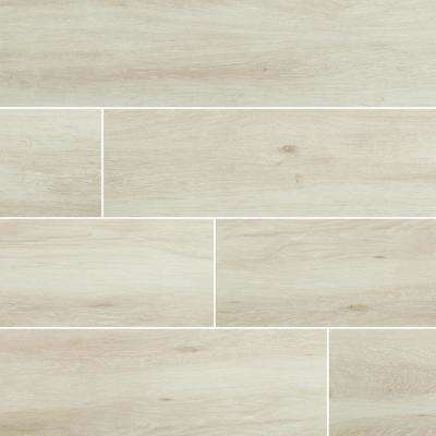 Rainer Blanco 9.5 in. x 35 in. Matte Porcelain Floor and Wall Tile (13.86 sq. ft./Case)