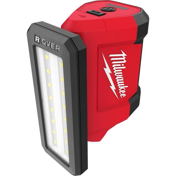 M12 ROVER 12-Volt Lithium-Ion Service and Repair 700 Lumens Flood Light with USB Charging